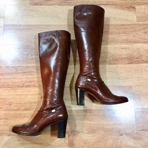 Salvatore Ferragamo Boots Vintage Leather 7